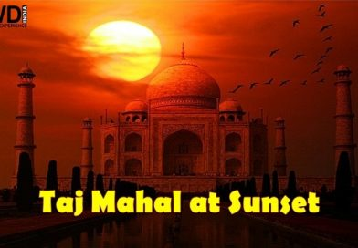 Visit the Taj Mahal at Sunset