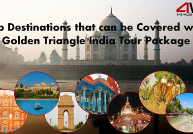 Top Destinations that can be Covered with Golden Triangle India Tour Package