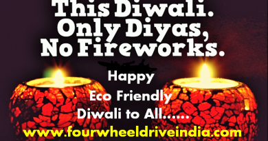Four Wheel Drive India - Happy Diwali To All