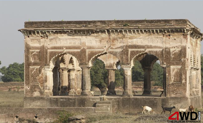 Mogul Queen Mumtaz Mahal's first resting place