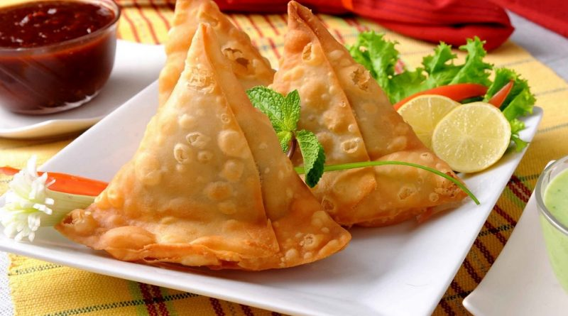 Samosa Indian Street Food