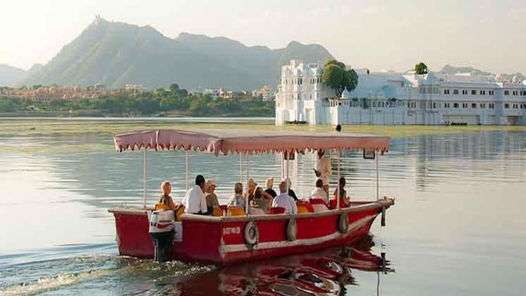 Boating at Fateh Sagar Lake