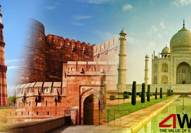 Eye Catching Combination of Beautiful Monuments with Golden Triangle India