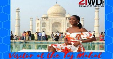 miss universe great britain 2018 visited taj mahal