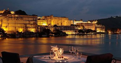candle light dinner udaipur