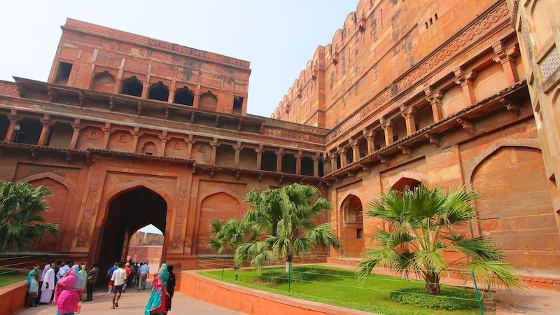 agra fort views