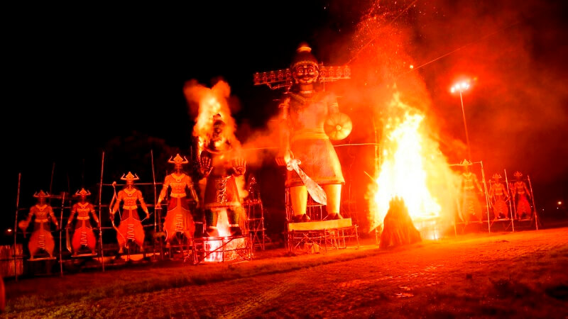 best places to visit during dussehra