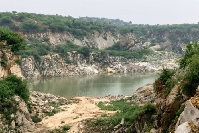bhardwaj lake of asola delhi