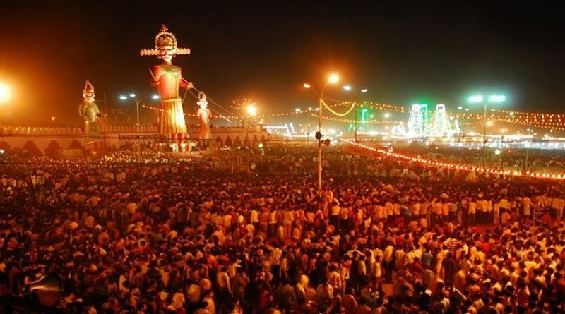 where is dussehra celebrated in india