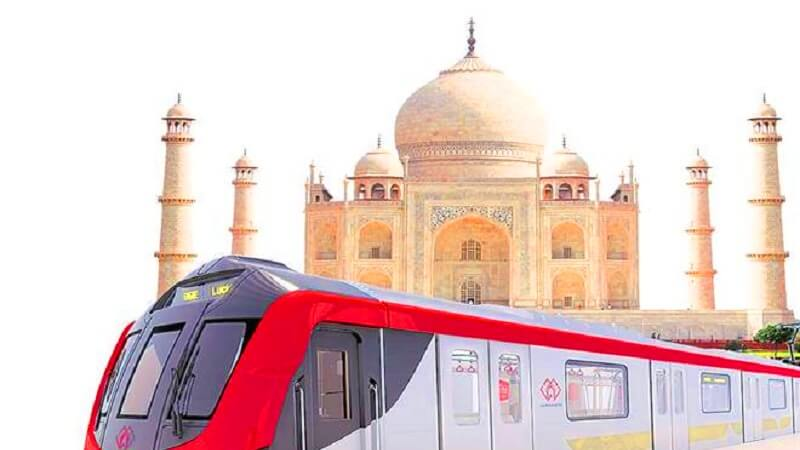 delhi to taj mahal train