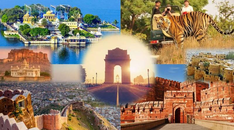 places nearby golden triangle india