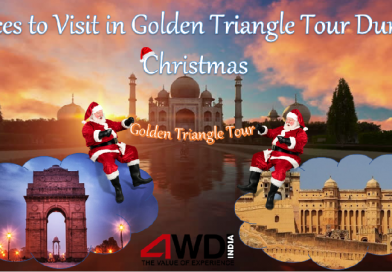 Places to Visit in Golden Triangle Tour During Christmas